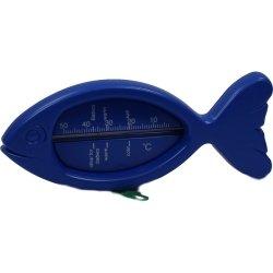 Badethermometer Fisch Blau, 1 St