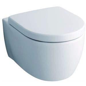 Keramag 574120000 WC-Sitz iCon, mit Deckel Scharniere: Metall, weiß