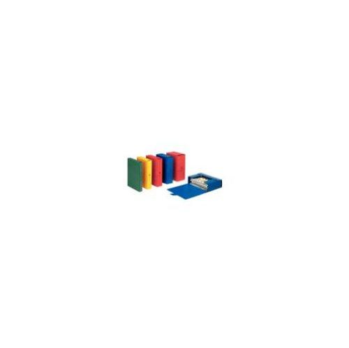 Esselte cartella a scatola per l'archiviazione di documenti a lungo termine, a4, dorso 10 cm, blu, eurobox, 390330050
