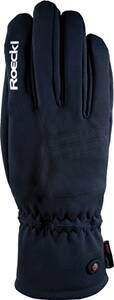 Roeckl Erwachsene Kuka Handschuhe, Schwarz, 7.5