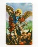 CARTE - CARTE avec prière plastifiée de Saint Mi...