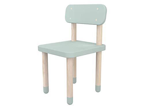 FLEXA Play Kinderstuhl mit Rückenlehne Mint 82-10059-79