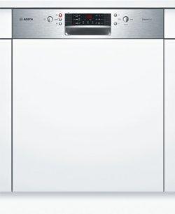 Bosch Serie 4 SMI46AS02E lave-vaisselle Semi intégré 12 places A+ - Lave-vaisselles (Semi intégré, Acier inoxydable, 1,75 m, 1,65 m, 1,9 m, Panier)
