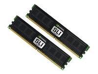 OCZ Nvidia SLI Ready Edition DDR2 PC2-6400 Arbeitsspeicher 2GB 800MHz CL5 (6400 Nvidia Pc2)