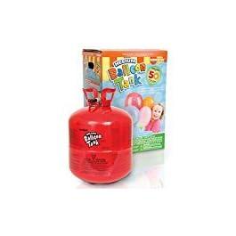 Bombola Gas Elio per Il gonfiaggio di 50 Palloncini + 50 Palloncini Standard Assortiti
