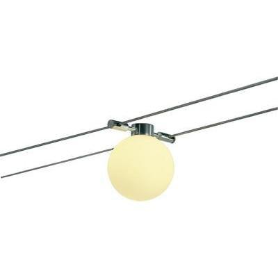 SLV Sphere Wire Seilleuchte, GY6.35, maximal 20 W, alu natur 181176 von SLV bei Lampenhans.de
