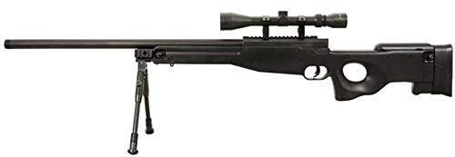 Well Airsoft Sniper L96 w/Lunette & Bipied MB-01D 0.5 Joule
