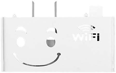 WOVELOT Caja Almacenamiento Router Inalámbrico WiFi