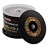 50-mnda-700mb-52x-80minute-branded-recordable-disc-cd-r-50-disk-spindle-long-playing-audio-cd-gold
