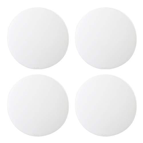 YANG WU 4 Türgriffschalen mit Selbstklebendem Silikon-Wandschutz 3M Crashpad zum Schutz von Wänden, Türgriffen, Kühlschranktüren, Schränken