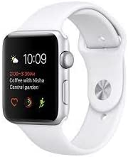 SYL A1 Bluetooth Smart Watch with Camera and Sim Card Support with Apps Like Facebook and Whatsapp for All 3G & 4G Android/iOS Smartphones - 128 mb ram (White)