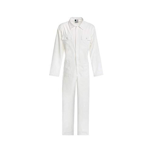 Work and style - tuta linea bianco - bianco, l