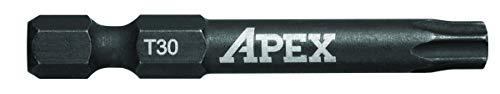 APEX AMB2TX30-2 Ind. 2 Torx Power Drive T30 2PK -