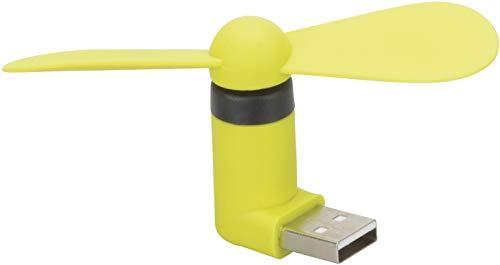 HR GRIP kleiner, leiser Ventilator mit USB Anschluss - grün [2 Jahre Garantie | Kompakt & effektiv] - 11011211 - Honeywell Fan Schwarz