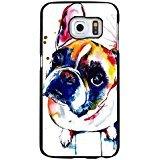 Stilvoll Cute Colorful Gemälde Französische Bulldogge Handytasche Schutzhülle für Samsung Galaxy S7Edge Pet Hund Einzigartige Shell dsda11434