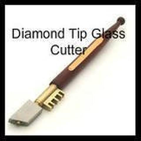Cortador de cristal con punta de diamante