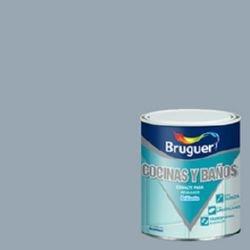 Bruguer 5160698 - Esmalte para azulejos brillante GRIS ÁRTICO Bruguer 750 ml