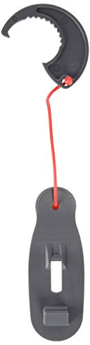 Howsar 350 - Candado para puerta de uso sencillo, color Gris