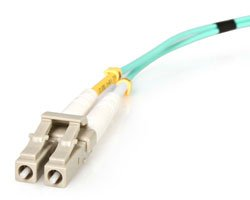 StarTech.com 10m LC Fiber Optic Cable - 10Gb Aqua - MM Duplex 50/125, A50FBLCLC10