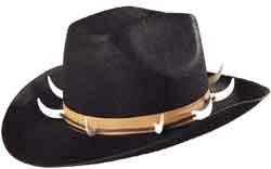 WIDMANN wdm2547C?Sombrero Dandy de fieltro, talla única adulto