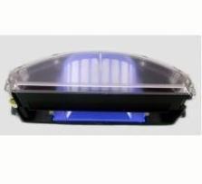 iRobot AeroVac Bin - Accesorio para aspiradora (Negro, Transparente, iRobot: Roomba 500, 600)