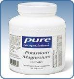Pure Encapsulations - Magnesium et de potassium (citrate) 90 capsules veg.