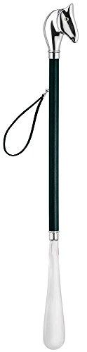 Nico nico Design Schuhanzieher Schuhlöffel mit Pferde-Kopf als Griff, Echtholz Wenge, special edition