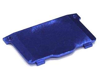 Integy RC Model Hop-ups T8472BLUE Alloy Battery Cover for Losi Micro-T, Micro Baja, Desert Truck & Raminator