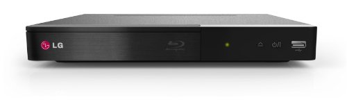 LG BP240 Blu-ray Player (HDMI, 1080p Upscaling, USB) schwarz