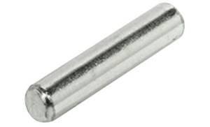100 Stck. Hettich Bodenträger Ø 5 mm, Metall verzinkt, für 5 mm Lochbohrungen , Bolzen ohne Rand - LIVINDO