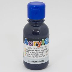 PRIMO 402ta125 521 acrílico Color 125 ML - Color Azul Oscuro