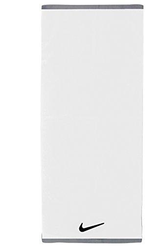 Nike Fundamental Sport Tuch in Schwarz und Weiß - White/Black - M -