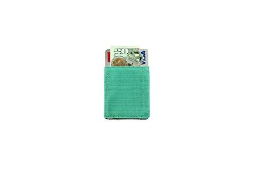 Nomatic Basic Wallet praktische Geldbörse für Männer und Frauen, minimalistisch und leicht, in verschiedenen Farben (Red) Mint