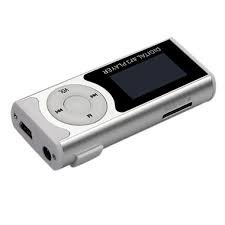 Captcha Digital MP3 Player with HD LED Torch Functionality Silver