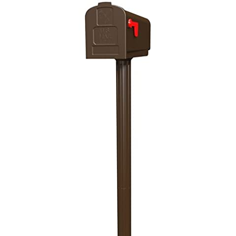 Gibraltar HCPL10V01 Harrison All in One Mailbox and Post Combo Venetian Bronze by Gibraltar