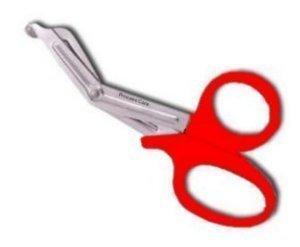 Princess Care First Aid Medical EMT Trauma Shears Nurses Utility Scissors 7.5