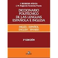 Diccionario politécnico de las lenguas española e inglesa: Español-inglés