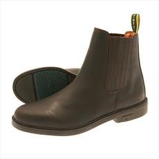 Tuffa Tipperary Bottes d'équitation pour enfant (à Partir de 7 ans et adultes Tailles UK 4 à 12) Marron - Marron foncé