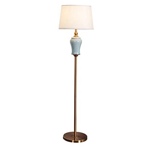 Ritlr- Standleuchten Moderne Keramik Stehleuchten Wohnzimmer Schlafzimmer LED E27 Hauptbeleuchtung Fixture Kopfenden Stehleuchten Night Stand Licht