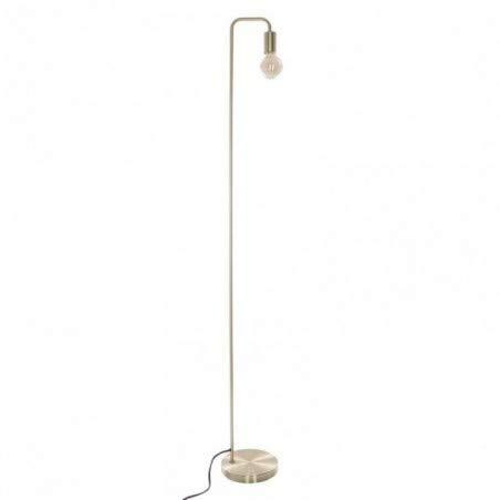 Lampadaire en métal - Style épuré et moderne - Hauteur 150 cm (Doré)
