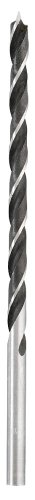 kwb Holzspiralbohrer extra lang Ø 6,0 mm 511806 (CV-Stahl, Länge 250 mm, 2 Vorschneider)