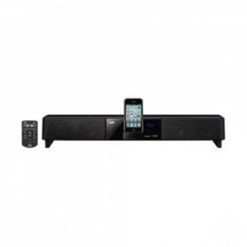 JVC Network Theatre Sound Bar with iPhone/iPod Dock - Black