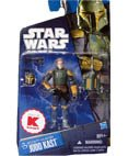 Star Wars Bounty Hunter Jodo Kast 3-3 / 4 Inch Scale Exclusive Action Figure with Removable Helmet by Hasbro