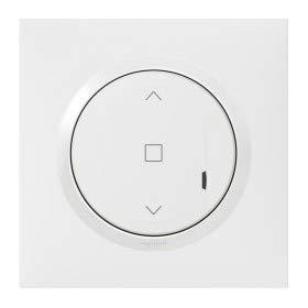 interrupteur volet roulant - connecté - blanc - legrand dooxie 600086