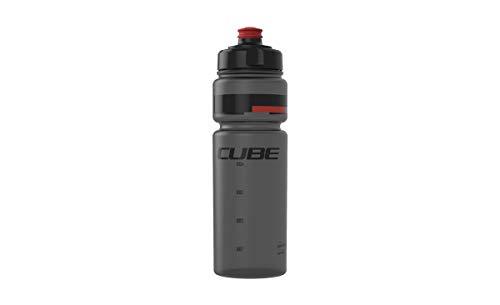 Cube Teamline Fahrrad Trinkflasche 0,75l Schwarz/Rot - Fahrrad Cube
