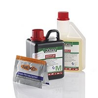 MATHY Motorrad Set Additive Reiniger für Motor und Kraftstoffsystem speziell für Motorräder (Atv-motor-reiniger)