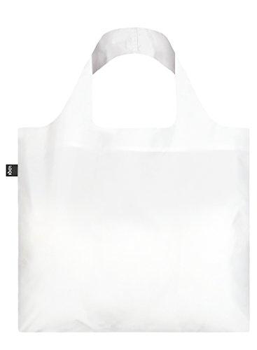 PURO, White. Bag: LOQI BAG: Ich wiege 55 g. Ich kann 20 kg tragen. Ich bin wasserabweisend und waschbar. OEKO-TEX zertifiziert und aus Polyester.