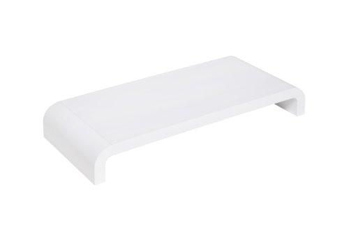 Lavolta Design Schreibtischregal Monitor Ständer Standfuß für Apple iMac Desktop-PC - Weiß