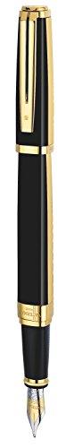 waterman-exception-night-day-black-lacquer-gold-trim-medium-nib-fountain-pen-gift-boxed