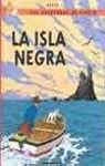 Las aventuras de Tintin : La isla negra par HERGE